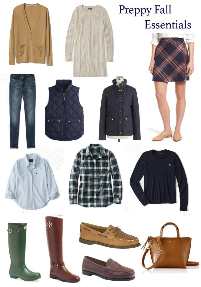 Fall Essentials 2017