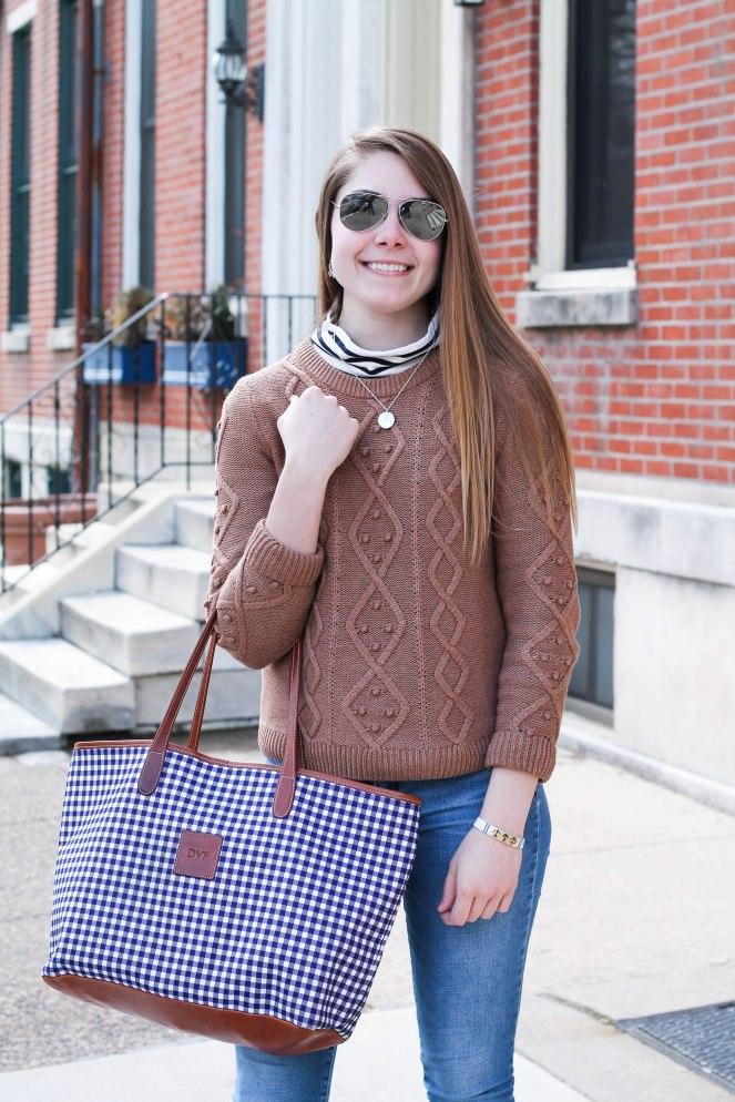 striped turtleneck sweater-6
