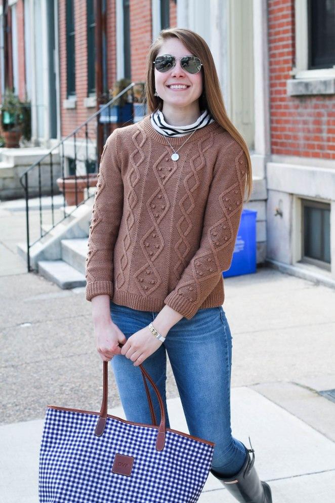 striped turtleneck sweater-7