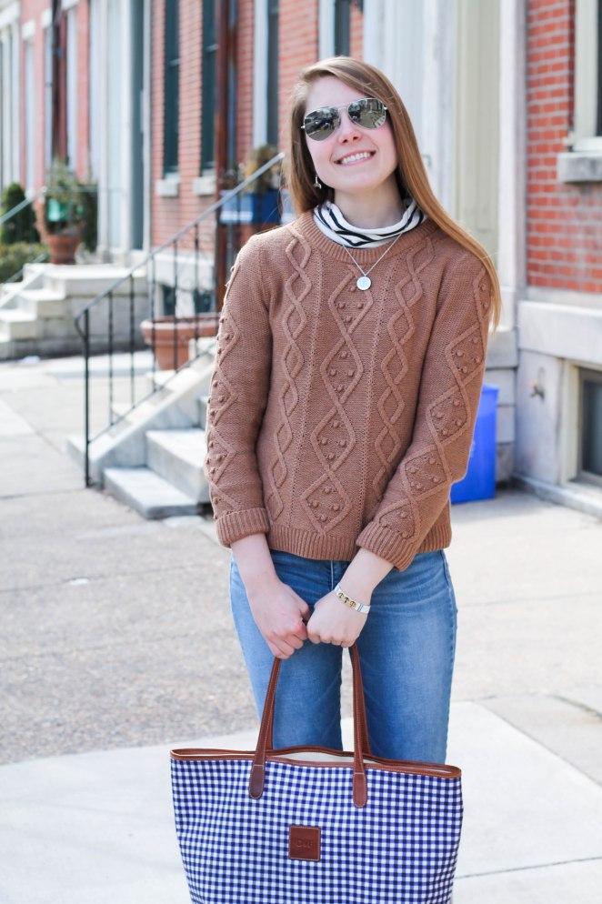 striped turtleneck sweater-9